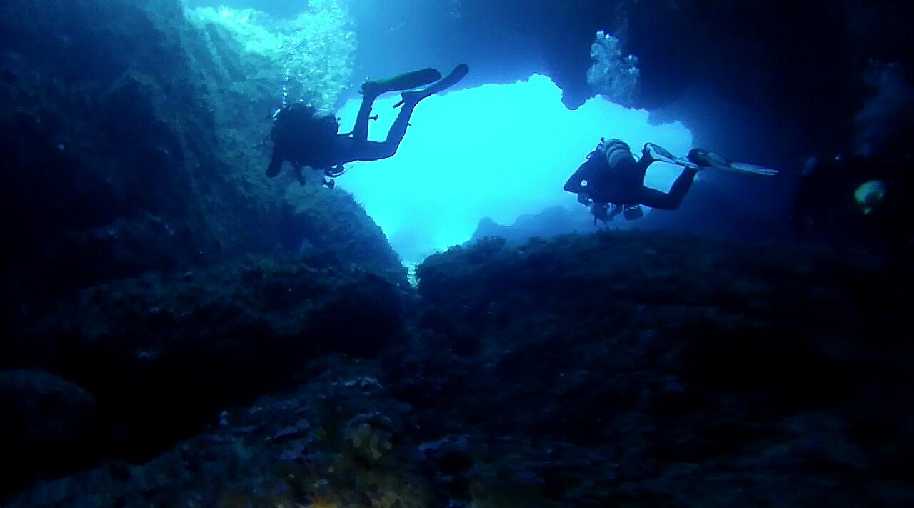 Grotta a Lampedusa