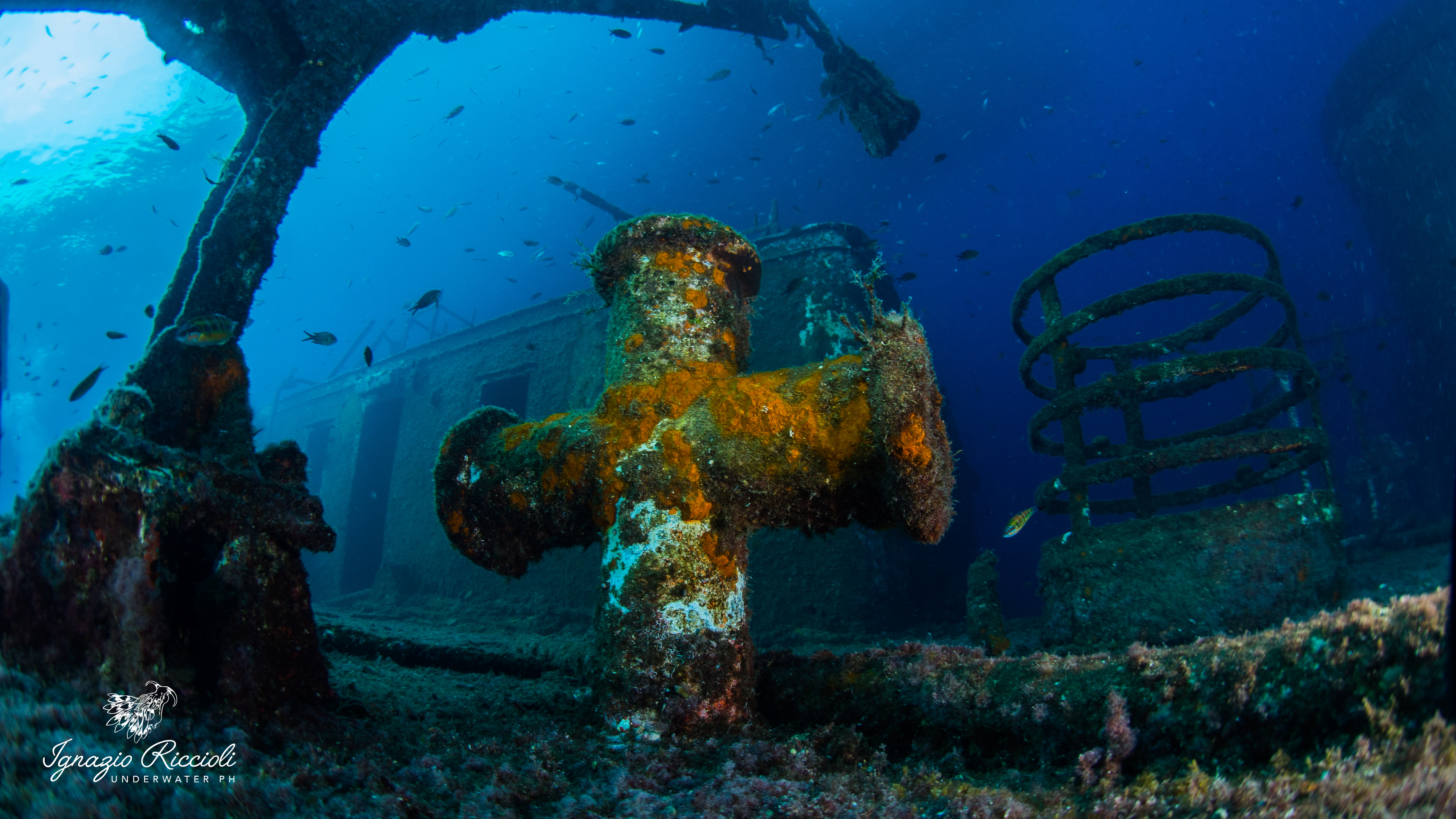 Wreck MV Karwela Gozo Malta